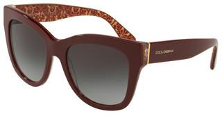 Dolce & Gabbana DG4270 32058G GREY GRADIENTBORDEAUX ON DAMASCUS GLITTER