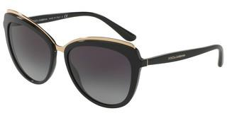 Dolce & Gabbana DG4304 501/8G LIGHT GREY GRADIENT DARK BLUEBLACK