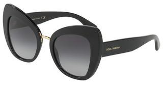 Dolce & Gabbana DG4319 501/8G LIGHT GREY GRADIENT BLACKBLACK