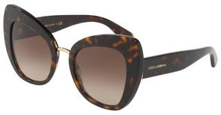 Dolce & Gabbana DG4319 502/13 BROWN GRADIENT DARK BROWNHAVANA