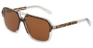 Dolce & Gabbana DG4354 757/73 BROWNTOP HAVANA ON CRYSTAL