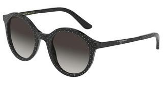 Dolce & Gabbana DG4358 31268G LIGHT GREY GRADIENT BLACKPOISWHITEONBLACK