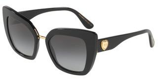 Dolce & Gabbana DG4359 501/8G LIGHT GREY GRADIENT BLACKBLACK