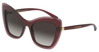 Dolce & Gabbana DG4364 32118G GREY GRADIENTTRANSPARENT BORDEAUX