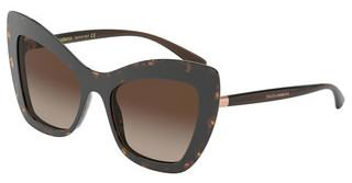 Dolce & Gabbana DG4364 502/13 BROWN GRADIENT DARK BROWNHAVANA