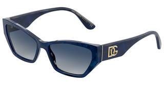 Dolce & Gabbana DG4375 32534L LIGHT GREY GRADIENT DARK BLUEBLUE MARBLE
