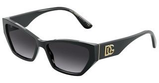 Dolce & Gabbana DG4375 501/8G LIGHT GREY GRADIENT BLACKBLACK