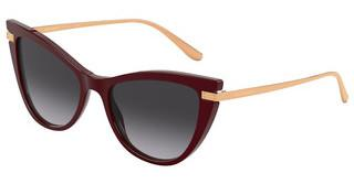 Dolce & Gabbana DG4381 30918G LIGHT GREY GRADIENT BLACKBORDEAUX