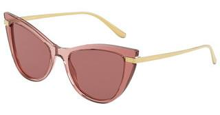 Dolce & Gabbana DG4381 326769 BROWN GRADIENT DARK BROWNPINK MULTILAYER