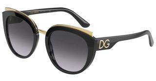 Dolce & Gabbana DG4383 501/8G LIGHT GREY GRADIENT BLACKBLACK