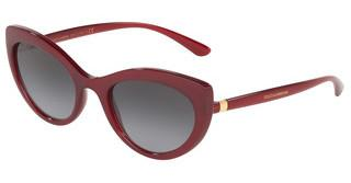 Dolce & Gabbana DG6124 15518G GREY GRADIENTTRANSPARENT BORDEAUX