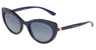 Dolce & Gabbana DG6124 30944L LIGHT GREY GRADIENT DARK BLUEOPAL BLUE