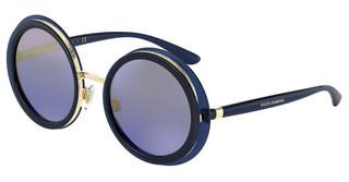 Dolce & Gabbana DG6127 309433 BLUE MIRROR GRADIENT GOLDOPAL BLUE