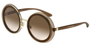 Dolce & Gabbana DG6127 537413 BROWN GRADIENT DARK BROWNTRANSPARENT BROWN