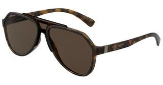 Dolce & Gabbana DG6128 193573 BROWN GRADIENT DARK BROWNMATTE HAVANA