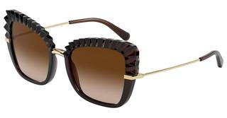 Dolce & Gabbana DG6131 315913 BROWN GRADIENT DARK BROWNTRANSPARENT BROWN