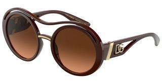 Dolce & Gabbana DG6142 329078 ORANGE GRADIENT BROWNAUBERGINE
