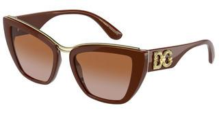Dolce & Gabbana DG6144 329213 GRADIENT LIGHT BROWNCAMEL