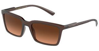 Dolce & Gabbana DG6151 329578 ORANGE GRADIENT BROWNTRANSPARENT TOBACCO