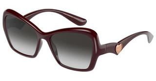 Dolce & Gabbana DG6153 32858G GREY GRADIENTTRANSPARENT BORDEAUX