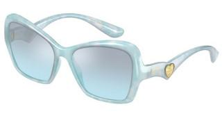 Dolce & Gabbana DG6153 330272 LIGHT AZURE MIRROR GRAD BLACKPEARL BLUE PASTEL