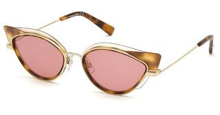 Dsquared DQ0336 56S bordeauxhavanna