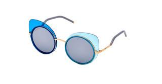 EYO Caro Pepe 03 dark grey, silver mirrorblue-aqua-gold