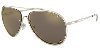 Emporio Armani EA2073 30135A LIGHT BROWN MIRROR GOLDPALE GOLD