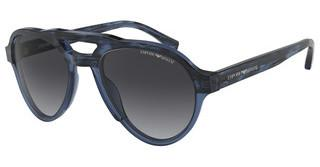 Emporio Armani EA4128 57488G GREY GRADIENTSTRIPED BLUE