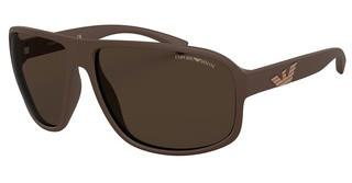 Emporio Armani EA4130 575573 BROWNMATTE BROWN