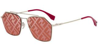 Fendi FF M0022/S Y11/0L RED DCGOLD RED