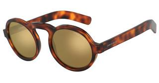 Giorgio Armani AR 803M 5177W4 BROWN MIRROR GOLDHAVANA