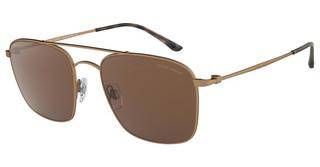 Giorgio Armani AR6080 324873 BROWNMATTE BRUSHED BRONZE
