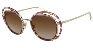 Giorgio Armani AR6081 301313 BROWN GRADIENTSTRIPED BROWN/PALE GOLD