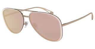 Giorgio Armani AR6084 30114Z GREY MIRROR ROSE GOLDBRONZE