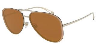 Giorgio Armani AR6084 30136H BROWN MIRROR GOLDPALE GOLD