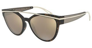 Giorgio Armani AR8124 50265A LIGHT BROWN MIRROR GOLDHAVANA