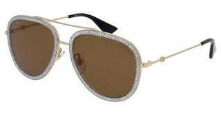 Gucci GG0062S 004 BROWNGOLD