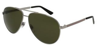 Gucci GG0137S 003 GREENRUTHENIUM