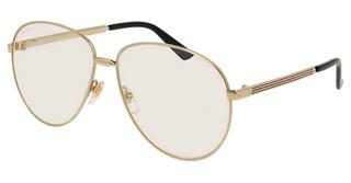 Gucci GG0138S 003 TRANSPARENTGOLD