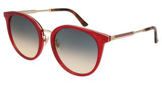 Gucci GG0204SK 005 BLUERED