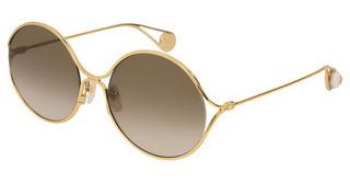 Gucci GG0253S 002 BROWNGOLD