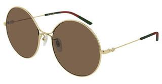 Gucci GG0395S 002 BROWNGOLD
