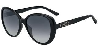 Jimmy Choo AMIRA/G/S 807/9O DARK GREY SFBLACK