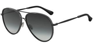 Jimmy Choo TRINY/S 807/9O DARK GREY SFBLACK