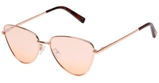 Le Specs ECHO LSP1802199 PEACH FLASH MIRRORBRIGHT GOLD
