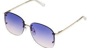 Le Specs SKYLINE LSP1902096 Bluebright gold