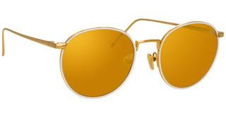 Linda Farrow LFL704 C7 GOLDYELLOW GOLD/ WHITE