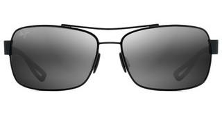 Maui Jim Ola 764-02M Neutral GreyMatte Black w/ Dark Translucent Grey Rubber Neutral