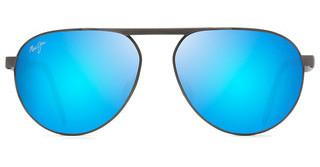Maui Jim Swinging Bridges B787-02C Blue HawaiiBrushed Dark Gunmetal